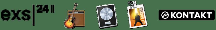 LivingRoom Upright Piano Free Edition formats currently supproted - EXS24 sampler, Kontakt Sampler, Logic Pro X, GarageBand and MainStage.
