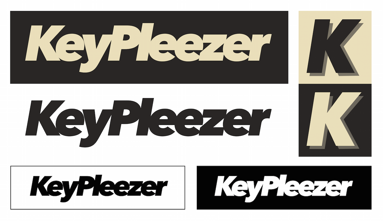 Example of our KeyPleezer logo package for press uses, web or print included in a zip.